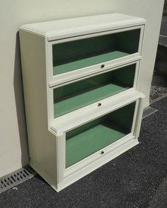 Globe Wernicke Style Bookcase / Glazed Bookcase – Ipplepen Interiors