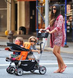 Pregnant Camila Alves Takes Her Kids For A Walk In New York