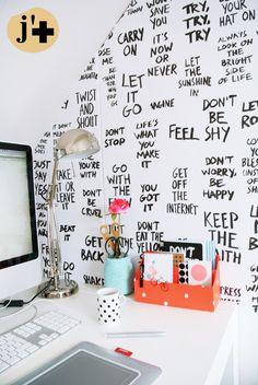 Méchant Design: handmade wallpaper