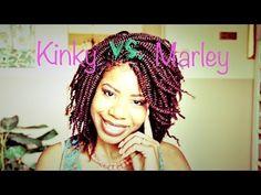 Kinky Twist Hair vs. Marley Twist Hair - YouTube Very informative and helpful.