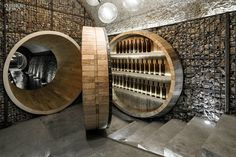 Firm: Shanghai Godolphin. Project: Yu Geng Shan Private Cellar. Location: Wuhu, China. Photography: Rob Cleary.