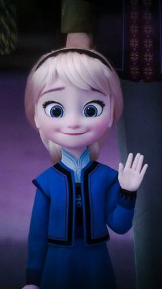 Cute Little Elsa
