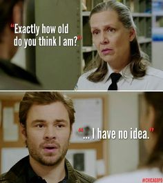 Chicago PD Love Trudie! And how she made Ruzek pose as her fiancé so she could get money from her father.