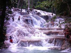 Dunn's River Falls, Jamiaca