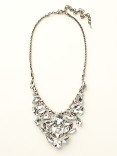 Shielded Crystal Necklace in Crystal Clear - Sorrelli