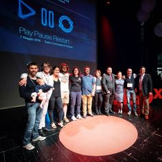 The speakers of #TEDxVicenza 2016  #PlayPauseRestart   #tedx #Vicenza #tbt