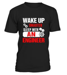 Wake Up Smarter Sleep With An Engineer T shirt  => Check out this shirt by clicking the image, have fun :) Please tag, repin & share with your friends who would love it. #hoodie #ideas #image #photo #shirt #tshirt #sweatshirt #tee #gift #perfectgift #birthday #Christmas