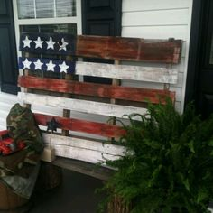 great idea for pallet recycle