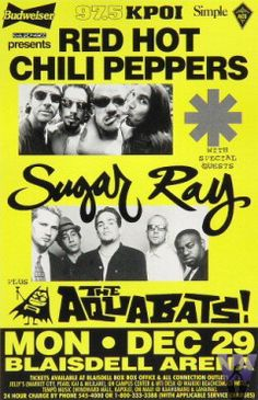 Red Hot Chili Peppers & Sugar Ray? WHAT?! WANT!