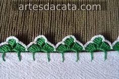 "bico de croche [ ""bico de croche Mais Tons of other edgings too"", ""Search for \""croche\"""" ] # # # # # # # # # # Crochet Boarders, Crochet Lace Edging, Crochet Squares, Love Crochet, Crochet Doilies, Knit Crochet, Filet Crochet, Crochet Stitches, Crochet Afghans"
