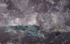 """Storm In The Skerries """"The Flying Dutchman"""" - August Strindberg"""