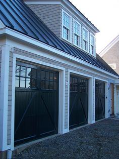 Green Painted Wood Garage Door Get This Look With General