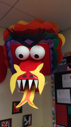 Chinese New Year dragon classroom display