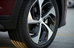 2016 Hyundai Tucson's alloy wheels will be offered, with a dynamic asymmetrical spoke design, surrounded by forward-raking wheel arch design. Hyundai Cars, Alloy Wheel, Tucson, Arch, Wheels, History, News, Gallery, Check