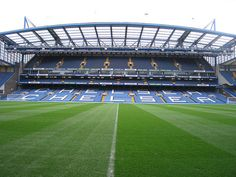 Chelsea FC in London; Stamford Bridge heated seat stands by proforged