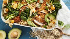 Pasta Salad, Cobb Salad, Edamame Noodles, Stir Fry, Tofu, Sushi, Fries, Good Food, Lunch