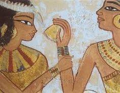 Resultado de imagem para maquiagem antigo egito