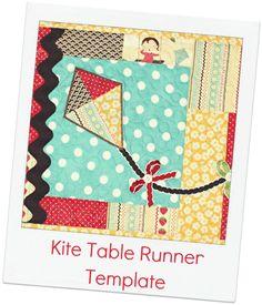 The Ribbon Retreat Blog - Kite Table Runner Tutorial