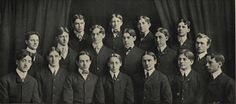 1901-02 Sigma Nu Fraternity.  From the 1903 Webfoot (UO Yearbook)  www.CampusAttic.com