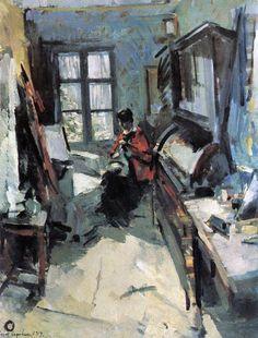In a Room, Konstantin Korovin