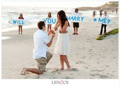 I don't have an 'ideal' dream proposal, but this is cute.