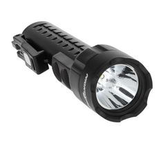 Rated at 130 lumens paired with a high-efficiency deep parabolic reflector, creating a flashlight beam with an effective range of 181 meters (over 590 feet). Nightstick Multi-Purpose Dual-Light w/Dual Magnets Police Flashlights, Binoculars, Magnets, Purpose