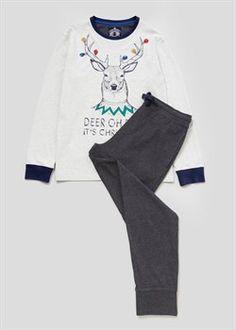 Stag Christmas Pyjama Set