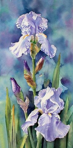 by Ann Mortimer #watercolorarts