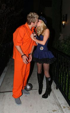 Couple costume inspiration Heidi and Spencer. & Heidi Montag and Spencer Pratt as a Police Officer and an Inmate ...