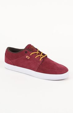 #Etnies Panther Dark Red Shoes