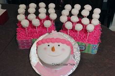 snowman and snowball pops tsm by Diane's Sweet Treats - (Diane Burke), via Flickr