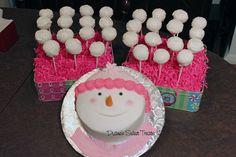 snowman and snowball pops tsm by Diane's Sweet Treats - (Diane Burke), via Flickr