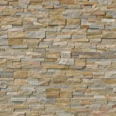 Order MS International Stone Siding - Quartzite Nevada Gold Collection Nevada Gold / Ledgestone / / Quartzite Slate, delivered right to your door. Slate Wall Tiles, Slate Flooring, Concrete Floors, Stone Mosaic, Stone Tiles, Stone Accent Walls, Stone Panels, Golden Honey, Stone Cladding
