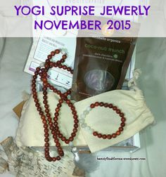 I am happy to report that this month's Yogi Suprise Jewelry Box is fab-fricking-tastic!! I knew of one spoiler, which was the rosewood and moonstone bracelet, but ohmygawd, look at what else they ...