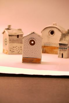 Shirley Vauvelle Porcelain Dwellings 2014