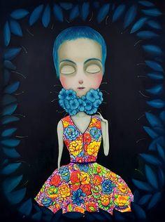 Amelia   Joan Alfaro - Artista Plástico Peruano