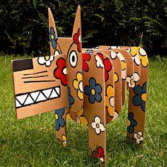 perro carton