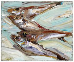 Nicholas Harding  Still life (whiting) 2011