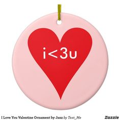 Shop I Love You Ceramic Ornament created by Text_Me. Personalize it with photos & text or purchase as is! Christmas Presents, Holiday Gifts, Christmas Ornaments, Holiday Decor, I Love You, My Love, Presents For Her, Text Me, Holiday Traditions