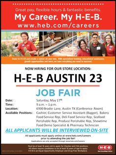 H-E-B Careers (hebcareers) on Pinterest