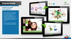 APP para iPad Apresentações institucionais para eventos, feiras e corpo de vendas