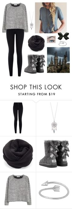 """""""Let it snow ❄️"""" by firebreatherr ❤ liked on Polyvore featuring New Look, UGG Australia, MANGO and Midsummer Star"""