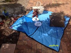 Join us for a picnic on a fleecy, water resistant picnic blanket that is detachable and machine washable. Wet booties no more. ZAR 188 www.equipicnic.co.za