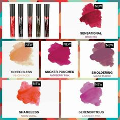 Love the new lip stain colors  and they last all day  shop here with me   youniqueproducts.com/WendyRoot