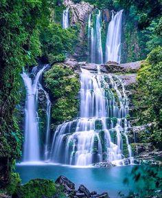 Waterfall in La Carolina, Costa Rica