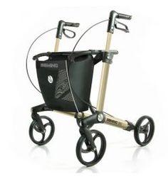Handicare Gemino Rollator 30 Champagne Leichtgewicht-Rollator Testsieger Edition