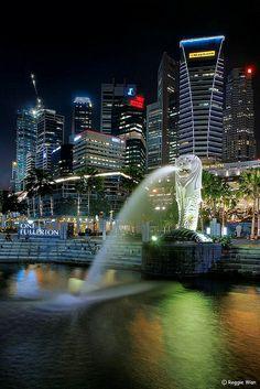 Merlion - The Icon of Singapore