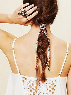 Free People Clothing Boutique > Mixed Thread Hair Wraps
