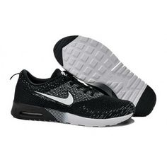 quality design b0f5d c701f 678 Noir Blanc Nike Air Max Thea Flyknit Homme Pas Cher portable a prix  discount center ww. Black Running ShoesCheap ...