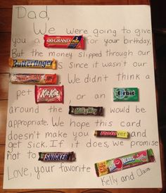 Homemade Birthday Presents For Dad 11 Best Photos Of Diy Christmas Gifts Your Sister Template